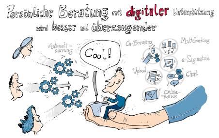 Illustration für Powerpointpräsentation