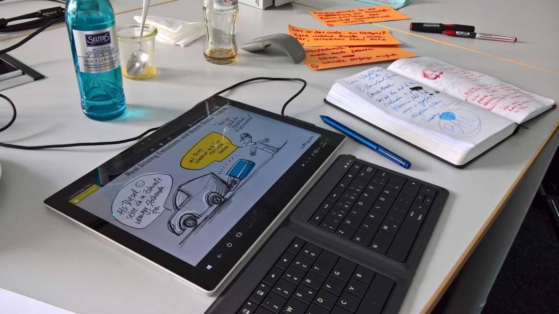Erfahrungen als Illustrator aus gut zwei Jahren Zeichnen mit dem Microsoft SurfacePro4